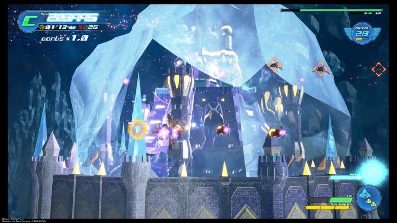 Kingdom Hearts III - Attaque d'une forteresse en vaisseau gummi
