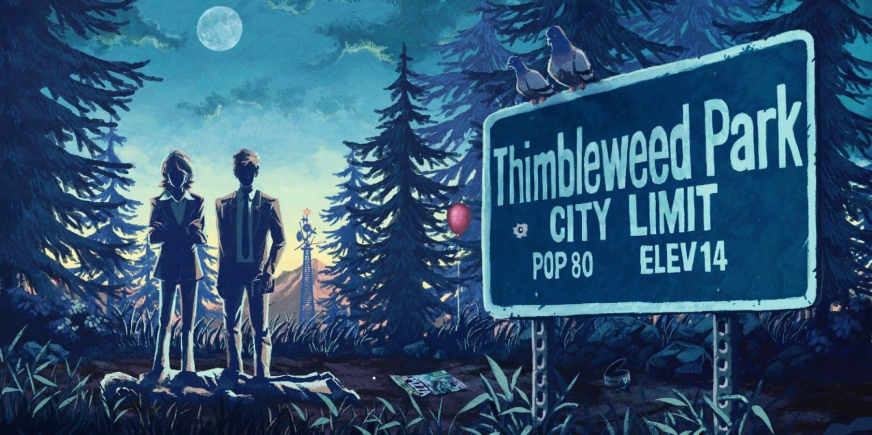 Thimbleweed park box art