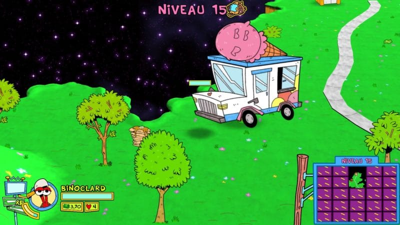 ToeJam & Earl Back in the groove Ice cream truck