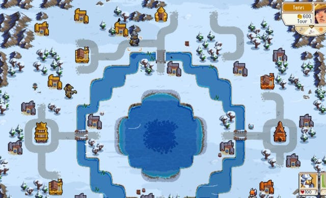 Wargroove - Maps en neige