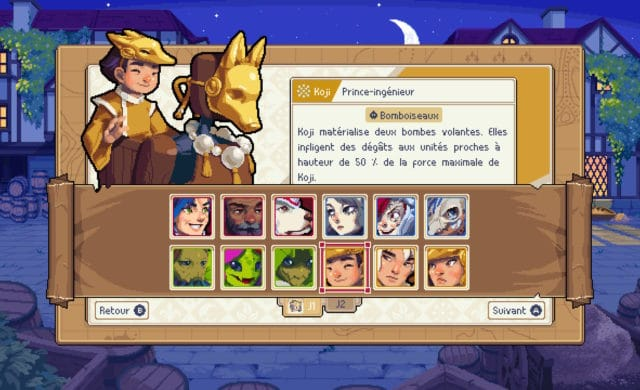 Wargroove - Personnages en lice