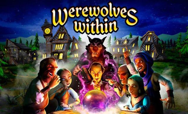 Werewolves Within illustration box art