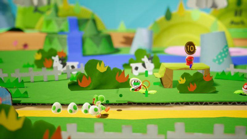 Yoshi's crafted world les mondes en carton