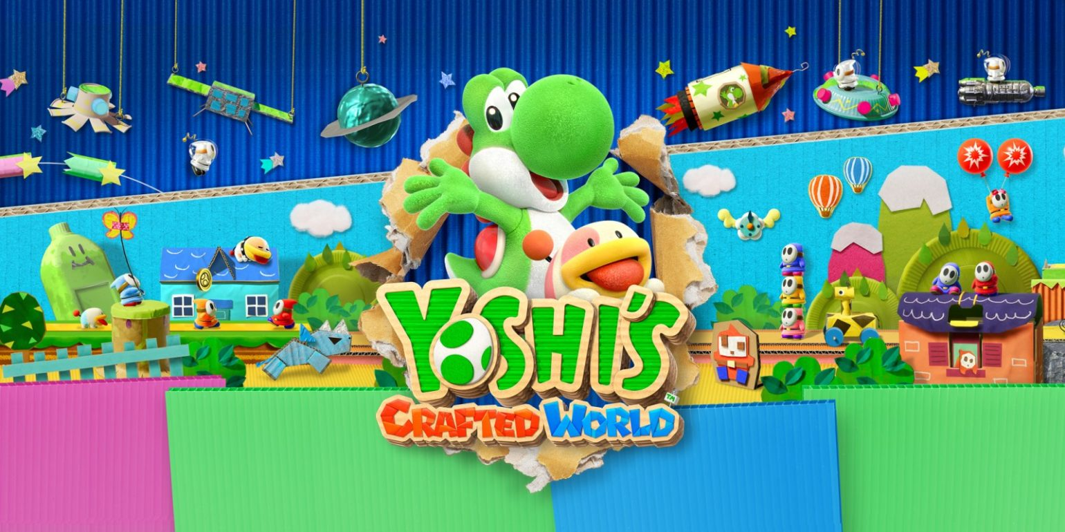 Yoshi's Crafted World une démo sur Switch