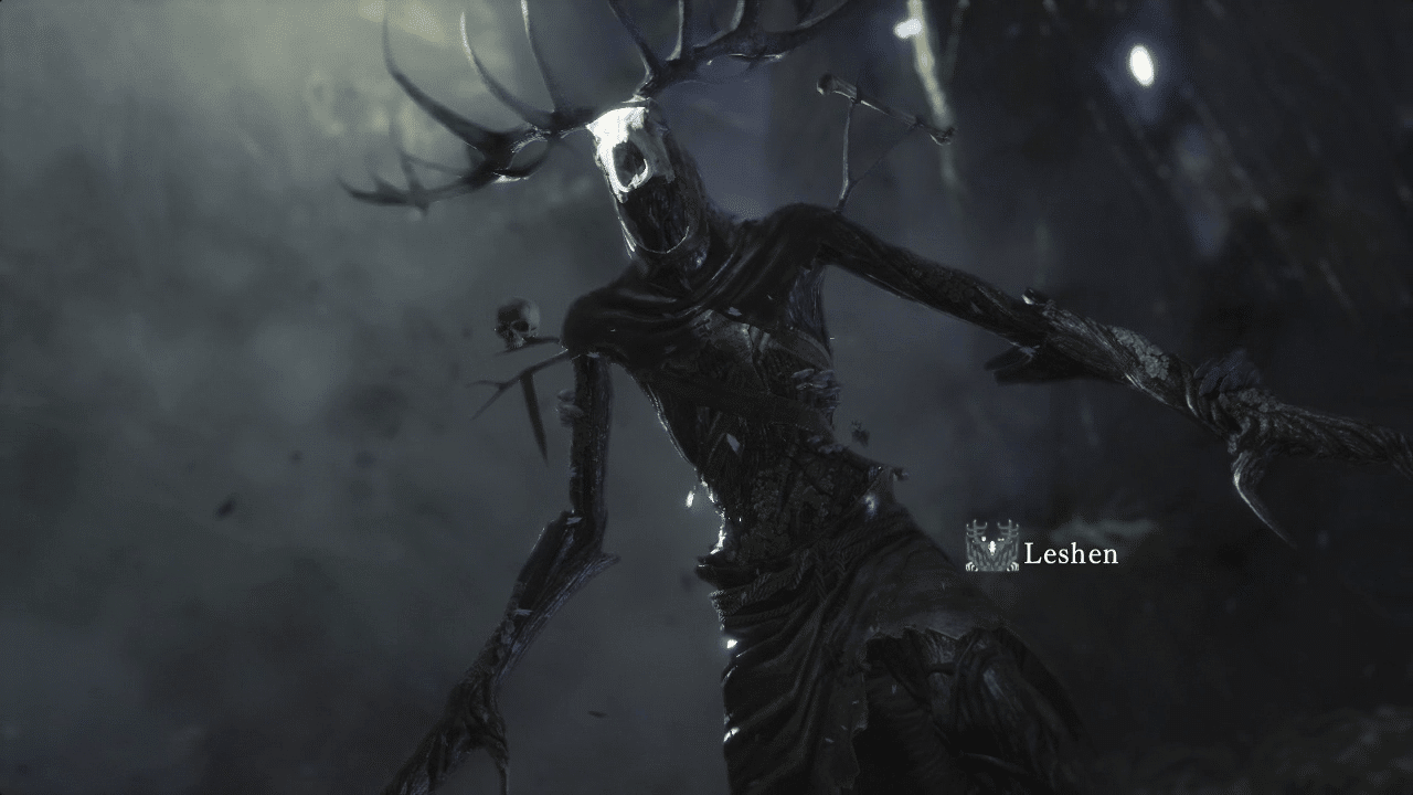 Monster Hunter: World Leshen