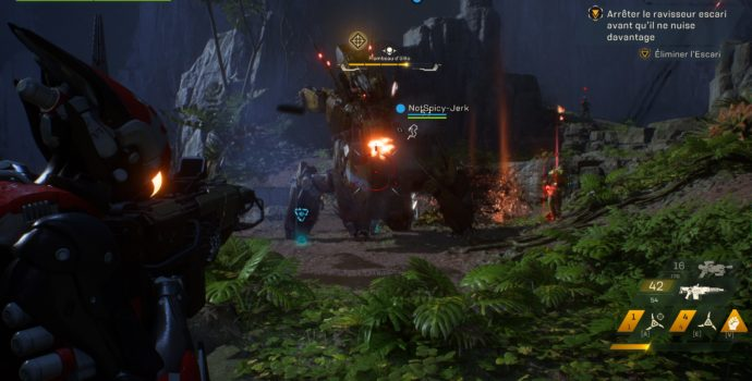 anthem preview boss fight