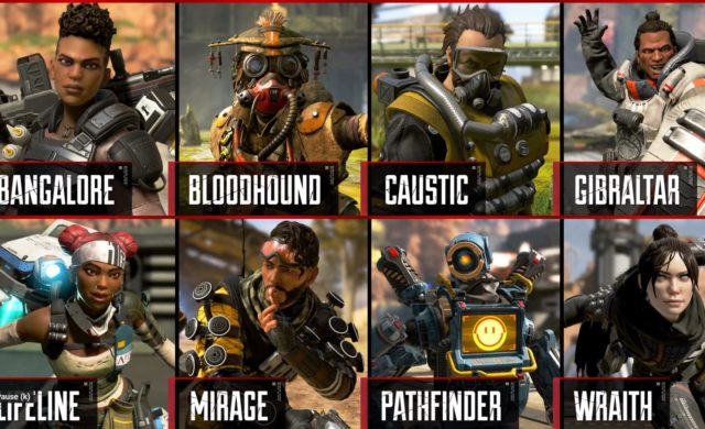 apex legends legendes