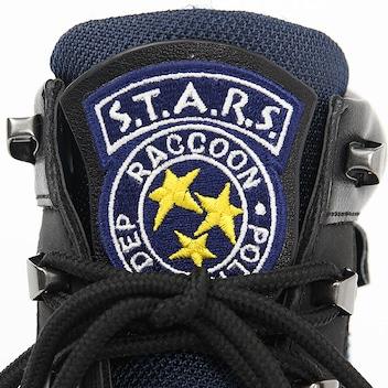 Resident Evil chaussures détails étiquette