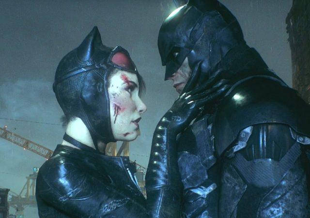 Batman et Catwoman fêtent la Saint-Valentin