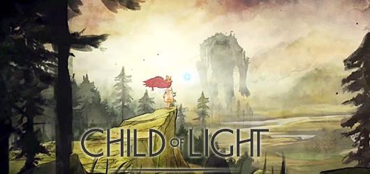 Child of light illustration