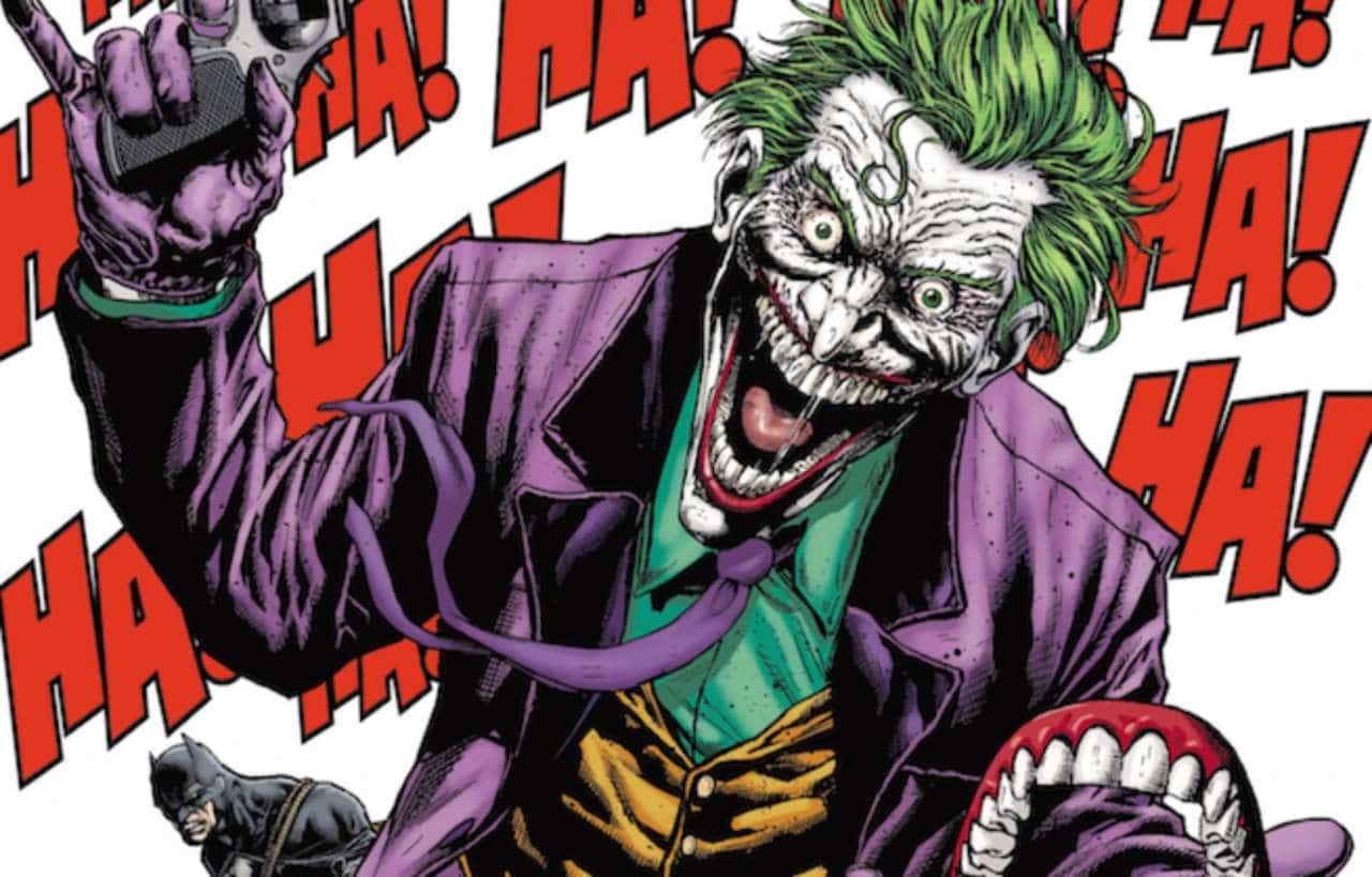 Le Joker qui rit - troll Batman: Arkham Crisis