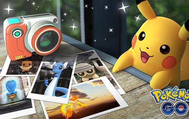 Module Cliché Go de Pokémon Go