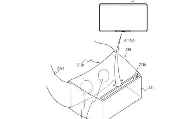 réalité virtuelle - brevet déposé par Nintendo