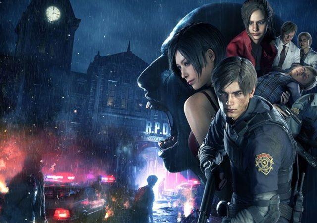 Resident Evil 2 illustration box art