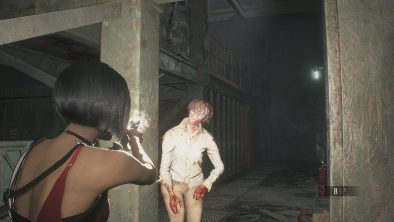 resident evil 2 test ada wong fight