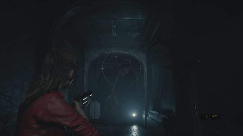 resident evil 2 test lickers