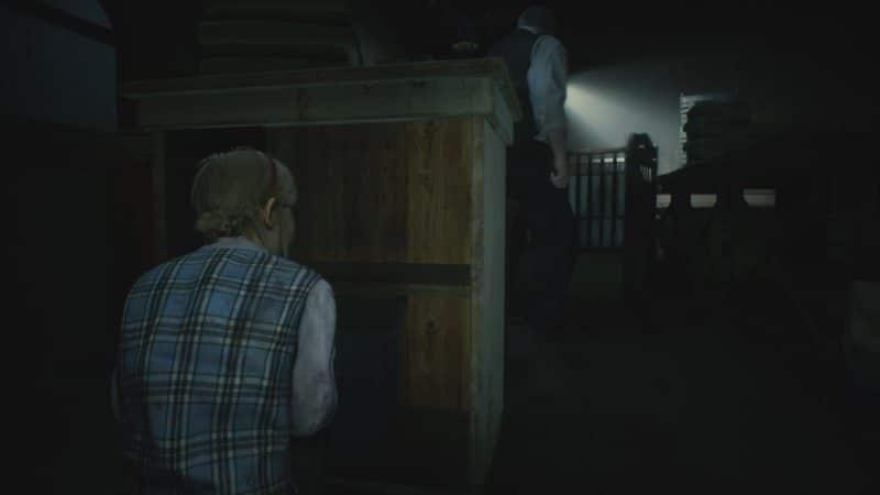 resident evil 2 test sherry birkin cache cache