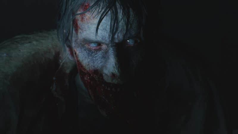 resident evil 2 test zombie