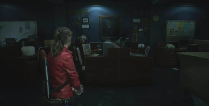 resident evil 2 STARS bureau