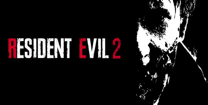 resident evil 2 test titre 2 logo zombie