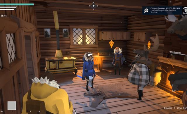 project winter cabin screenshot