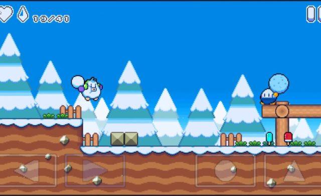 Snow Kids combat ennemi