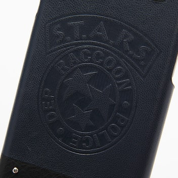 Resident Evil coque iPhone détail logo STARS