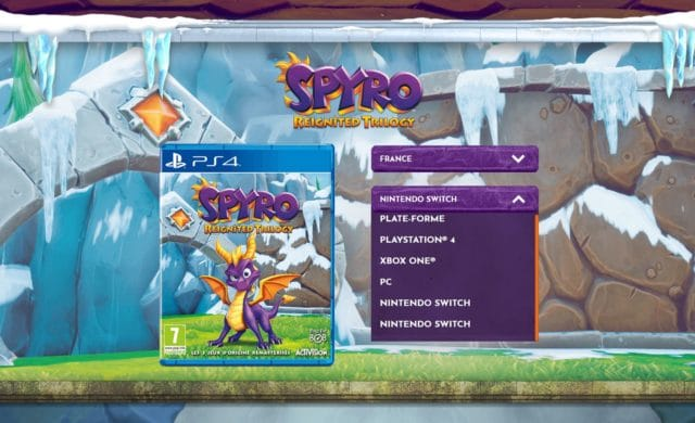 Spyro Reignited Trilogy bientôt sur Switch
