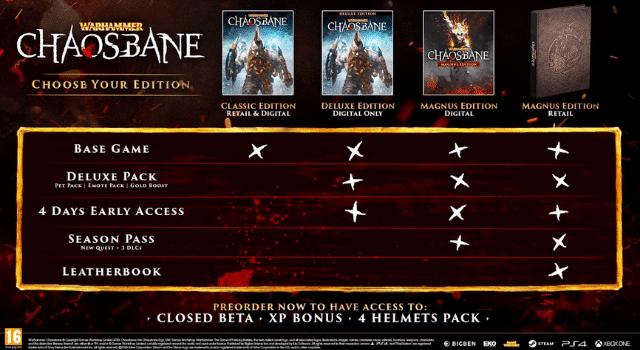 warhammer: chaosbane edition