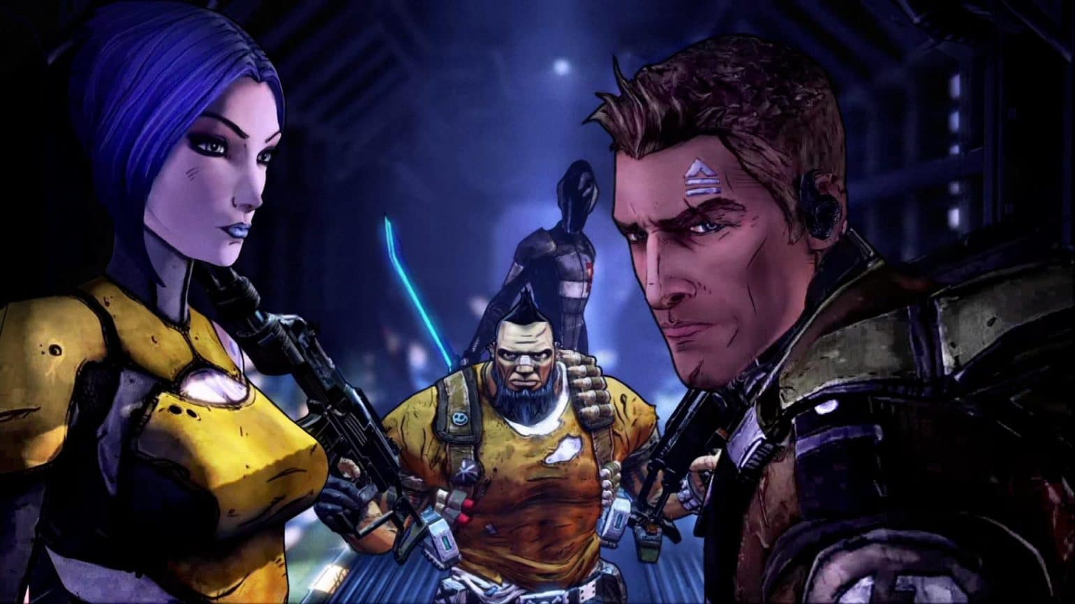 Borderlands: The Handsome Collection illustration trois personnages