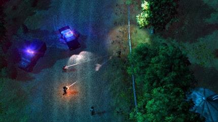 American Fugitive screen tir nuit