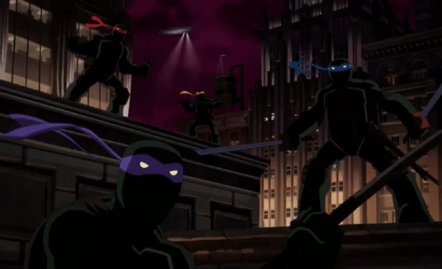 Batman vs. Teenage Mutant Ninja Turtles chevaliers d'écailles