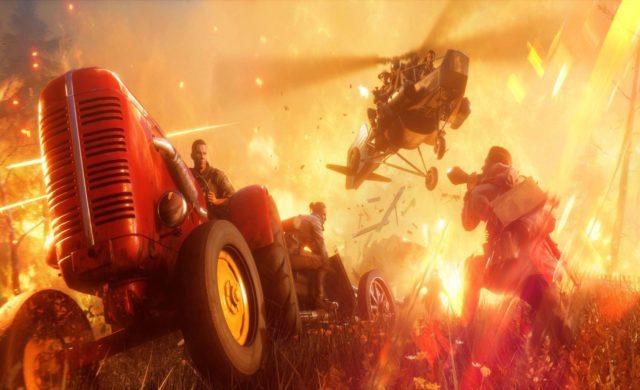 Battlefield V tracteur