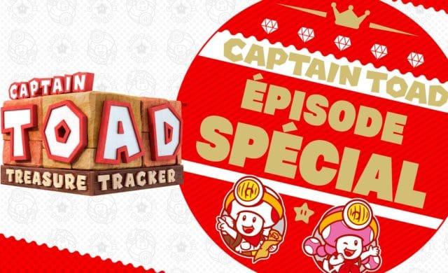 Captain Toad: Treasure Tracker – Épisode spécial - Logo et titre principal
