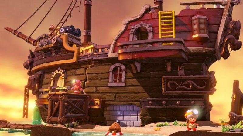 Captain Toad Treasure Tracker – Épisode spécial - Bastion des goomba