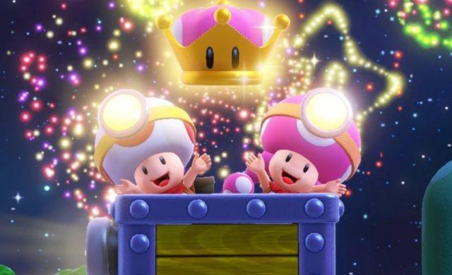 Captain Toad: Treasure Tracker – Épisode spécial - Toad et Toedette et la couronne