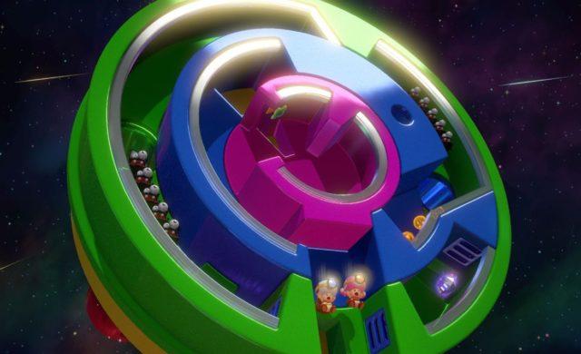 Captain Toad: Treasure Tracker – Épisode spécial - Monde circulaire