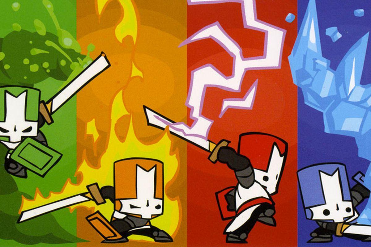Castle Crashers Remastered - 4 héros dans le vent