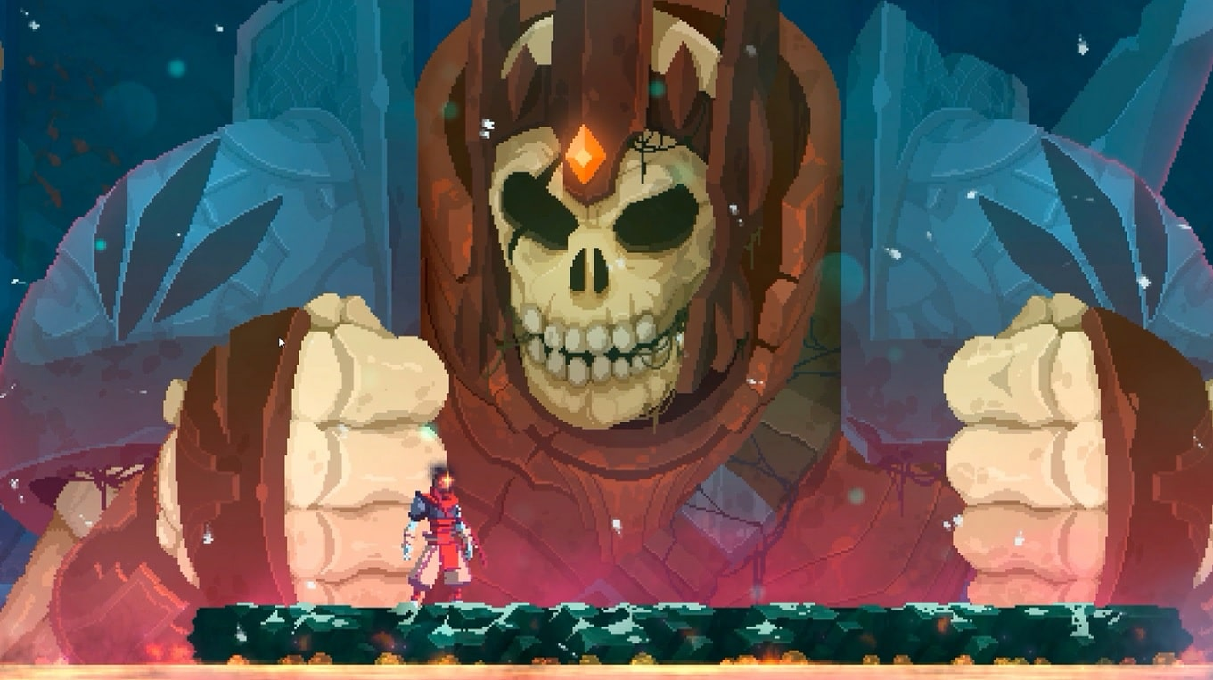 Dead Cells boss Rise of the Giant