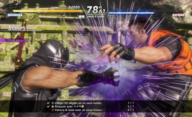 Dead or Alive 6 - Hayabusa en combat