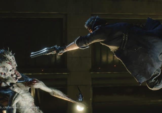 Devil May Cry 5 Nero explose un démon