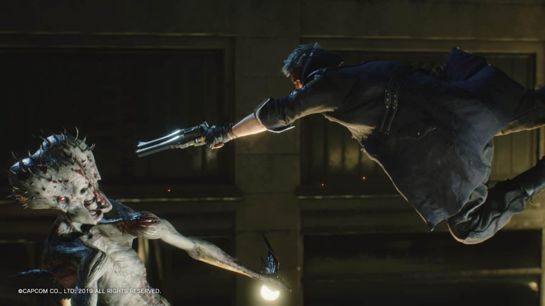 Devil May Cry 5 Nero explose un démon