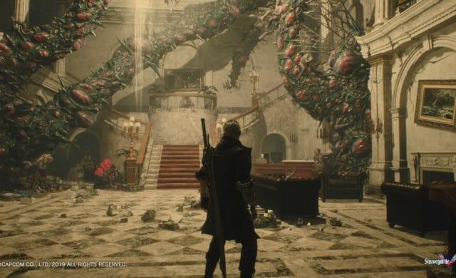 Devil May Cry 5 Nero exploration