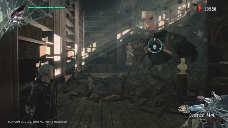 Devil May Cry 5 Nero vs Death Scissors