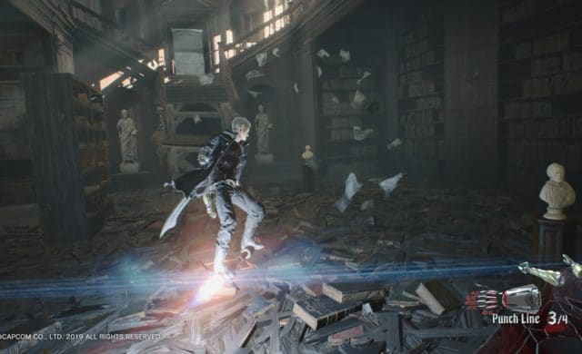 Devil May Cry 5 surf sur Punch Line