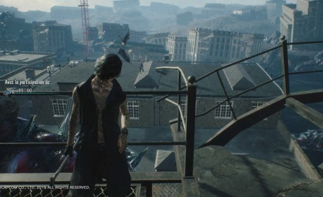 Devil May Cry 5 fonction online
