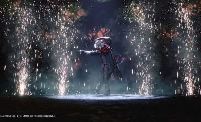 Devil May Cry 5 Dante reçoit Dr Faust