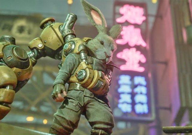 China Hero Project : présentation de F.I.S.T avec un lapin super badass