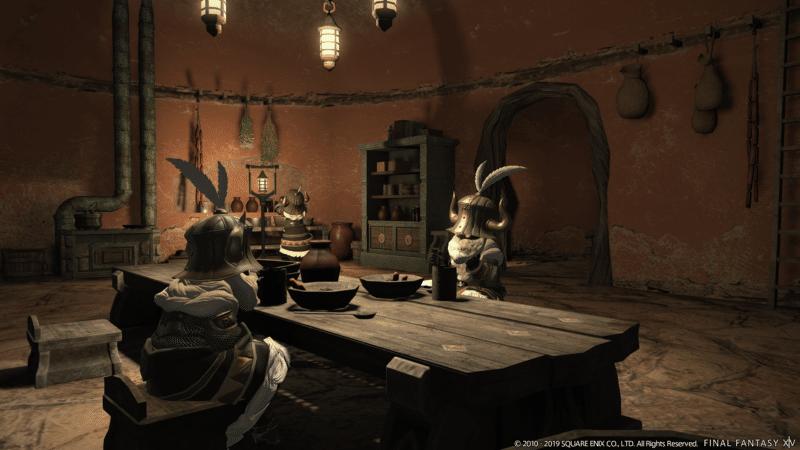 Final Fantasy XIV Fan Festival - Intérieur maison des Nains