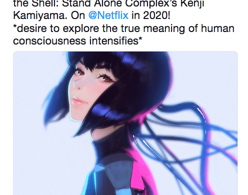 NetFlix Ghost in the Shell SAC 2045
